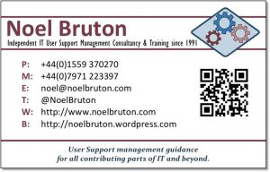 Noel Bruton Business Card