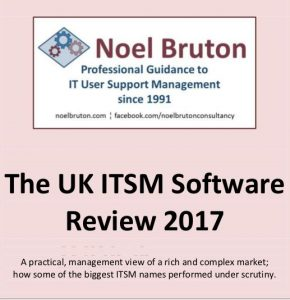 The ITSM Software Review 2017 Cover