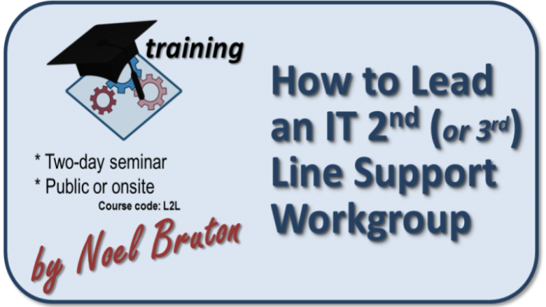 Logo Training How to Lead an IT 2nd Line