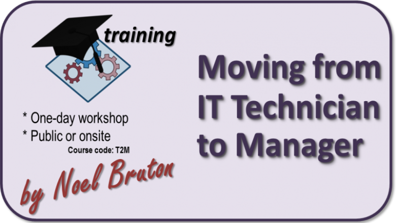 Training: Moving from IT Technician to Manager