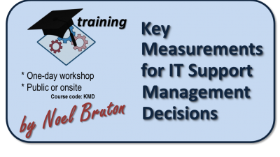 Logo Training Key Measurements for IT Support Management