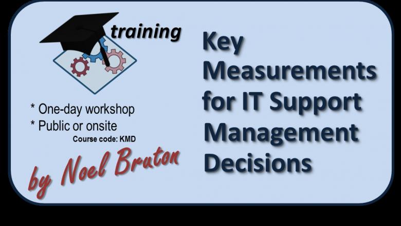 Logo Training Key Measurements for IT Support Management