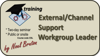 Training: External/Channel Support Workgroup Leader banner
